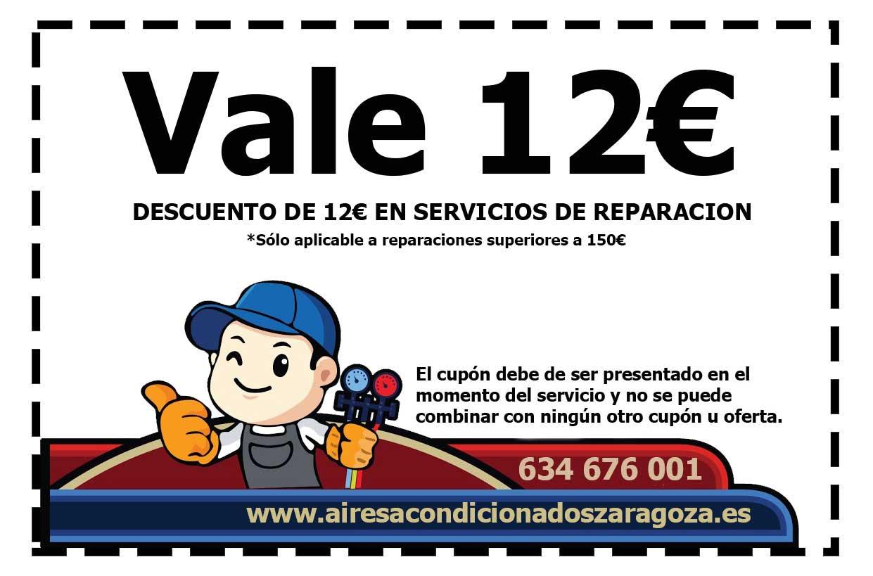Descuento Reparación Aires Acondicionados Zaragoza