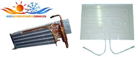Evaporador aire acondicionado
