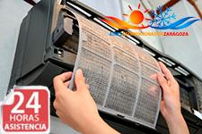 Reparaciones 24 horas de aires acondicionados Kosner en Zaragoza